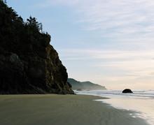 Hug Point. Oregon Coast