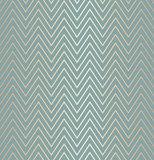 Trendy simple seamless zig zag golden geometric pattern green blue background, vector illustration. Wrapping paper zigzag graphic print. Repeating line texture. Modern minimalistic hipster geometry - 178336680