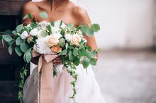 Beautiful Bride In A Luxurious...