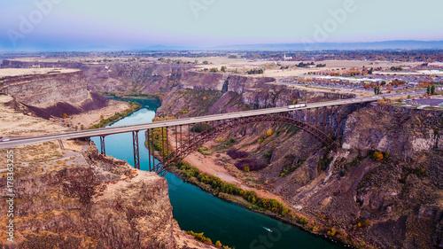 Obraz na płótnie Idaho Bridge2