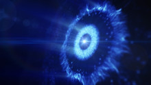 Abstract Burst Of Energy, Plasma Concept Background, Intergalactic Supernova. Graphical Resource And Illustration