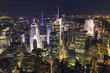 New York City and Manhattan skyscrapers