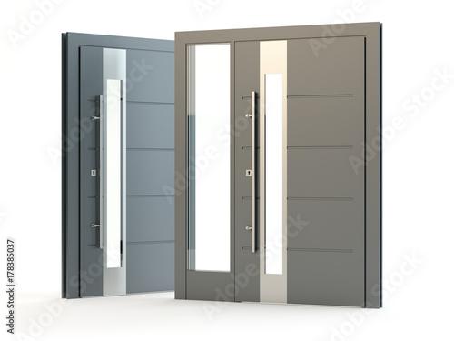 Photo Front doors