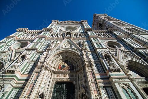 Zdjęcie XXL Florencja Włochy, Październik, -, 2017 Katedralny Santa Maria Del Fiore w Florencja, Włochy. Turystyczny punkt przeznaczenia.