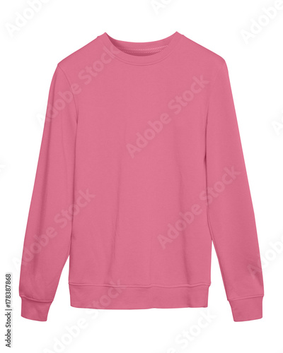 dafc75b6 Pale pink pastel sport blank sweatshirt isolated on white - Buy this ...
