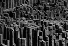 Basalt Columns In Iceland, Nea...