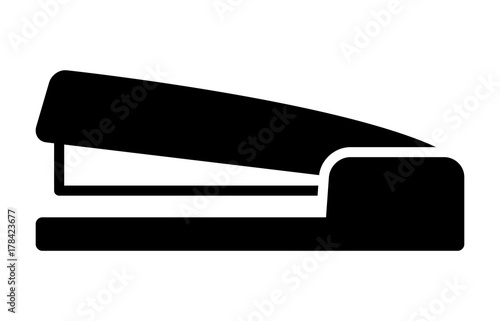 Fotografie, Obraz  Stapler paper fastener flat vector icon for apps and websites