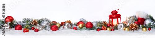 Weihnachten oder Advent Panorama Fototapete