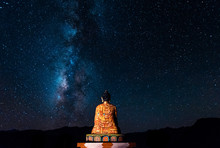 Milky Way Buddha Statue In Langza