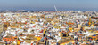 Panoramic View of Seville from Giralda Cathedral tower