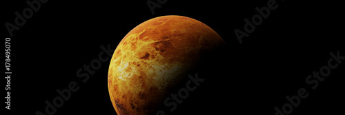 Deurstickers Nasa planet Venus