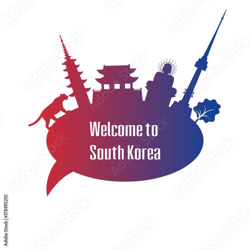 Photo  Welcome to South Korea.