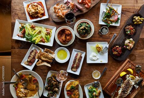 Fotografie, Tablou  People having dinner