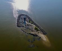 Cockspur Island Lighthouse Near Tybee Island, GA