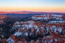 Colorful Snowy Bryce Canyon Na...