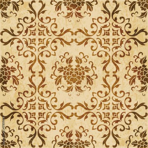 retro-brown-akwareli-tekstury-grunge-tla-krzywy-winogradu-liscia-bezszwowy-kwiat