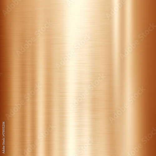 Photo  bronze or copper metal background
