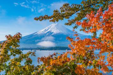 Obraz na Szkle初秋の富士山2017