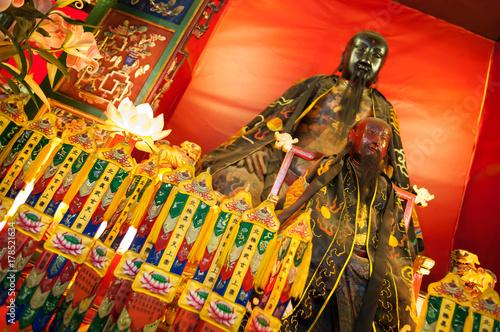 Photo  Main altar in Pak Tai Temple, Wan Chai, Hong Kong