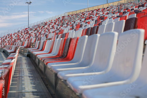 Poster Stadion Empty arena seats