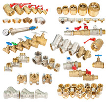 Set Of Brass (copper) Fittings