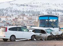 Car Crash On Road