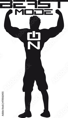 On Activated Aktiviert Umriss Hand Arm Muskeln Stark Workout