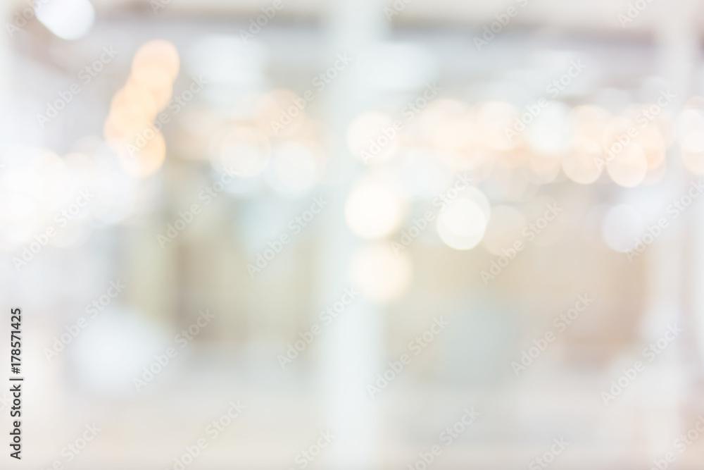 Fototapety, obrazy: blur image background of shopping mall