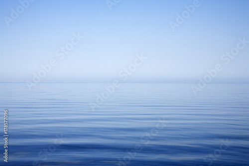 Fotografía  Sea and Sky Background Very Calm