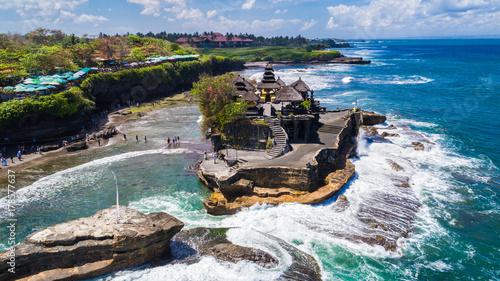 Wall Murals Bali Tanah Lot - Temple in the Ocean. Bali, Indonesia.