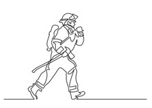 Continuous Line Drawing Of - R...