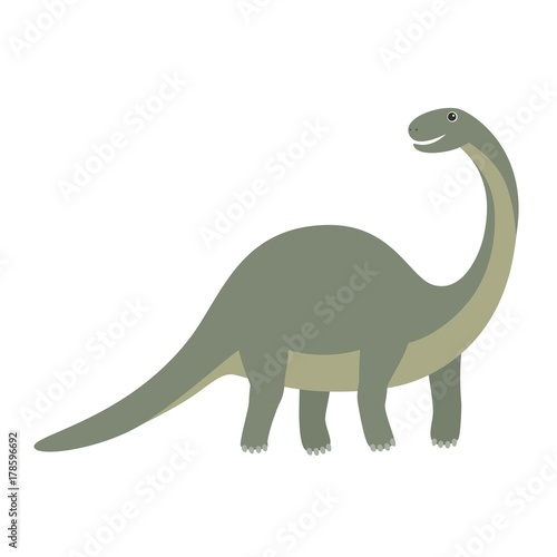 Photo  Apatosaurus dinosaur icon