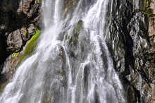 Gegsky Waterfall In Abkhazia