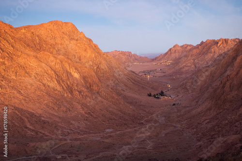 Tuinposter Monastery of St. Catherine Sinai Mount Moses