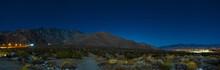 Palm Springs Aerial Tram Entrance - Night