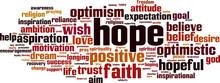 Hope Word Cloud