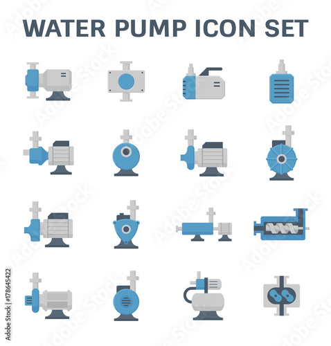Fotografía water pump icon