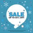 Banner sale of 50 off. Last Winter sale
