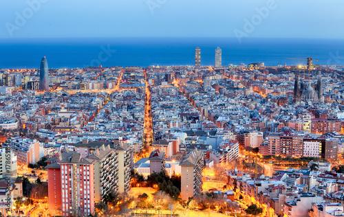 Obraz na dibondzie (fotoboard) Barcelona