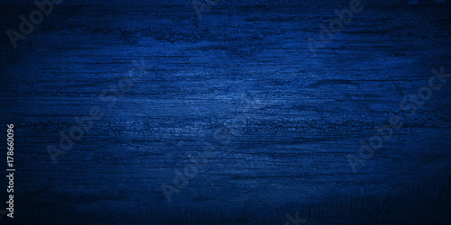 Fototapeta blue black wall wood texture obraz