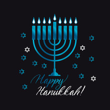Jewish Holiday Hanukkah With B...