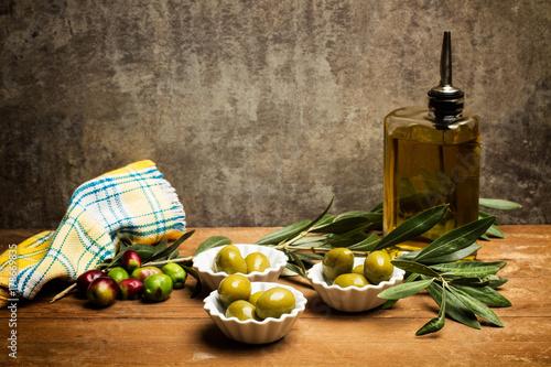 Keuken foto achterwand Voorgerecht Olivas