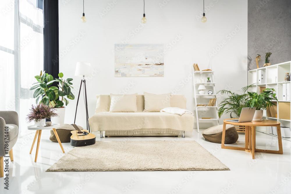 Fototapety, obrazy: living room interior