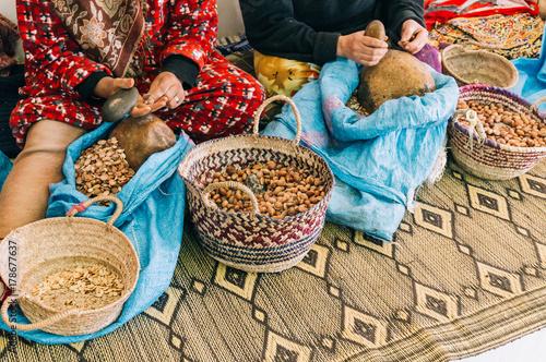 Photo Moroccan argan nuts