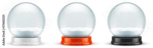 Photo Boules à neige vectorielles 7