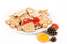 Christmas Cookies With Decorat...