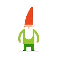 Green Small Garden Gnome