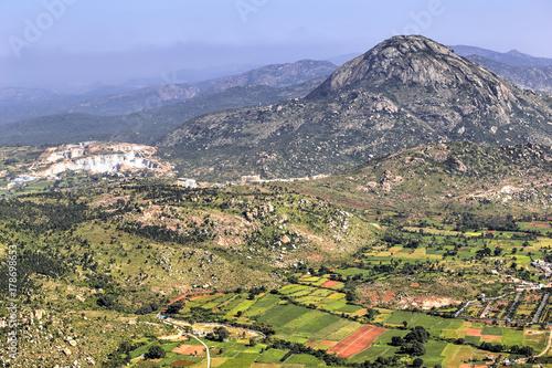 Staande foto Heuvel Nandi Hills, India