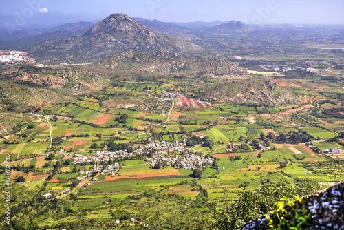 Canvas Prints Hill Nandi Hills, India
