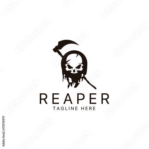 Reaper logo Wallpaper Mural